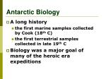 antarctic biology