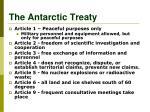 the antarctic treaty1