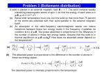 problem 3 boltzmann distribution