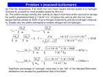problem 4 maxwell boltzmann