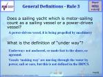 general definitions rule 3