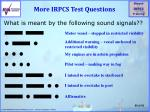 more irpcs test questions5