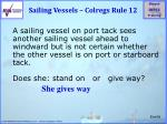sailing vessels colregs rule 12