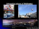 interesting places of wellington