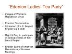 edenton ladies tea party