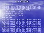 our xbd file12
