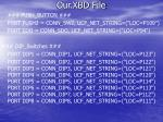 our xbd file13