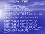 our xbd file6