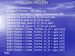 our xbd file9