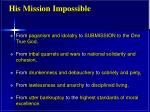 his mission impossible1