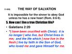 11 ws the way of salvation