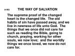 9 ws the way of salvation1