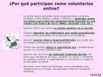 por qu participan como voluntarios online1