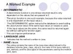 a worked example28