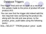 database triggers15