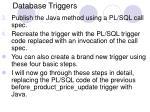 database triggers17
