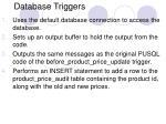 database triggers19
