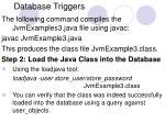 database triggers20