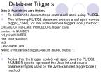 database triggers21