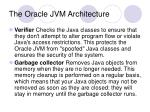 the oracle jvm architecture8
