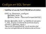 codigos en sql server