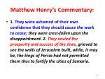 matthew henry s commentary3