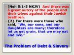 the problem of debt slavery