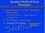 kruskal wallis h test procedure1