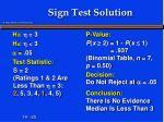 sign test solution6