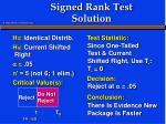signed rank test solution6