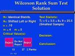wilcoxon rank sum test solution4