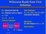 wilcoxon rank sum test solution5