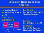 wilcoxon rank sum test solution6