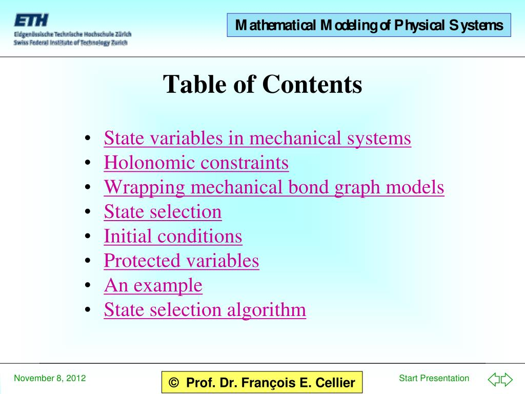 PPT - Bond Graphs for Mechanical Systems PowerPoint