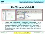the wrapper models ii