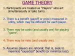 game theory1