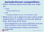 jurisdictional competition