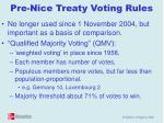 pre nice treaty voting rules