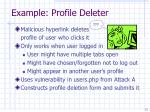 example profile deleter