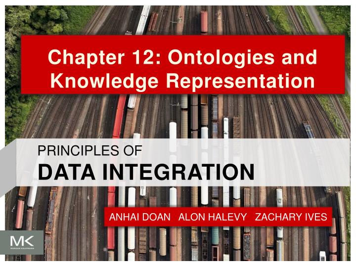 chapter 12 ontologies and knowledge representation n.