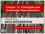chapter 12 ontologies and knowledge representation