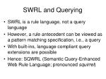 swrl and querying