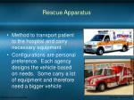 rescue apparatus
