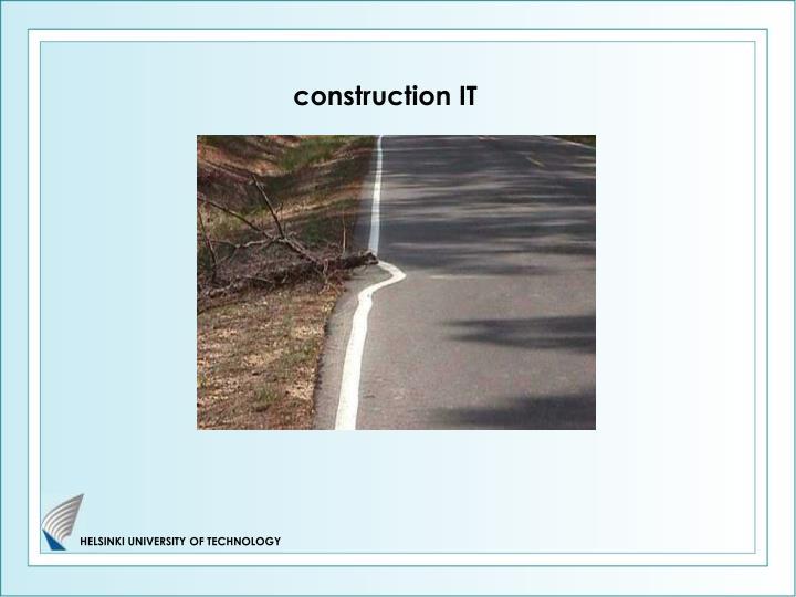 Construction IT