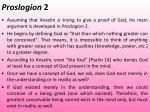 proslogion 2
