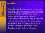 horatian