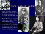 other political leaders