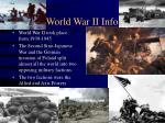 world war ii info