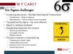 six sigma challenges3