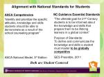 alignment with national standards for students2